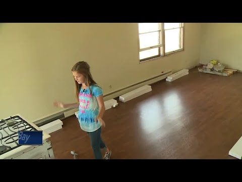 Wisconsin 11-year-old saving money for college by flipping houses
