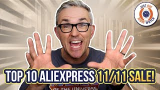 Top 10 AliExpress 11/11 Sale Watches!