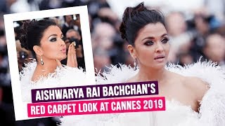 Cannes 2019: Aishwarya Rai Bachchan looks like a vision in white at the glamorous red carpet