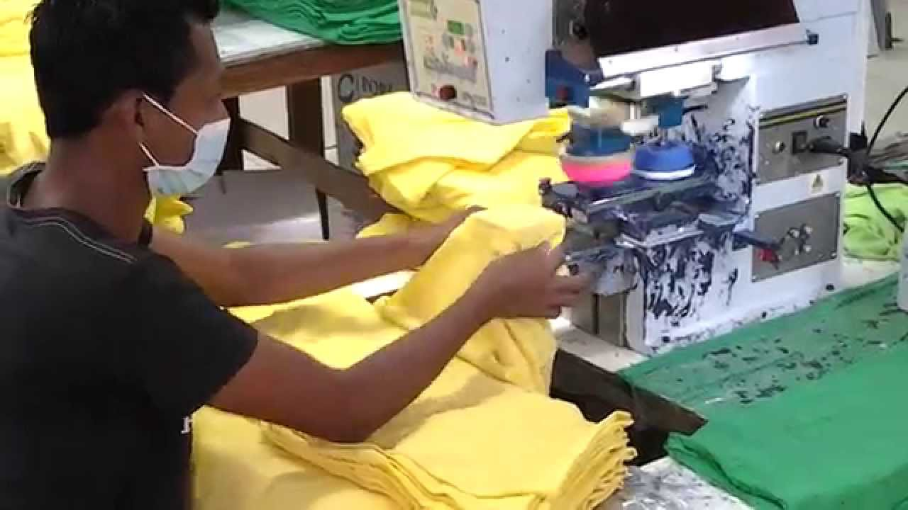 Tagless printing t shirt labels in a factory youtube for T shirt printing and labeling