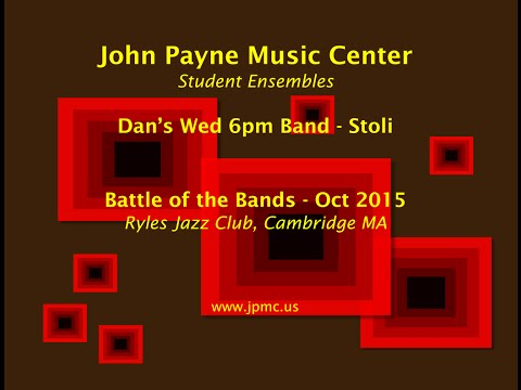 John Payne Music Center - Battle of the Bands - 10/2015 - Dan's Wed 6pm Band - Stoli