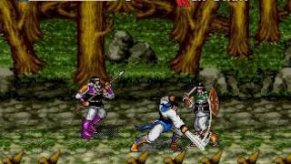 Yang Warrior Family Gameplay HD Sega Genesis Mega Drive LongPlay Walkthrough