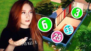 Генератор чисел решает как мне строить в Симс 4