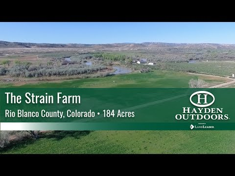 COLORADO FARM FOR SALE - THE STRAIN FARM