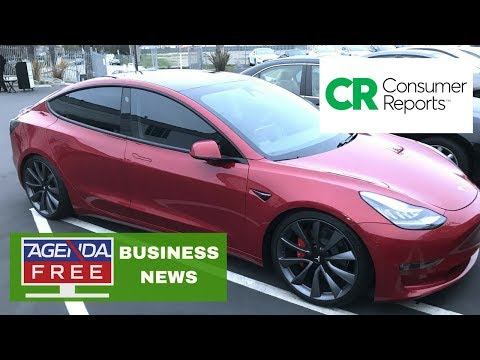 Consumer Reports Doesn't Recommend New Tesla - LIVE COVERAGE