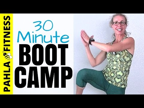 All Standing BOOT CAMP | Dana's 30 Minute Calorie Crusher Bodyweight EMOM Workout