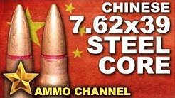 AMMOTEST: Chinese 7.62x39 Steel Core