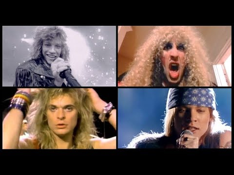 THE BEST ROCK SONGS OF THE 80S