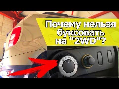Как не убить муфту полного привода? Почему нельзя буксовать на 2WD? | Видеолекция#2