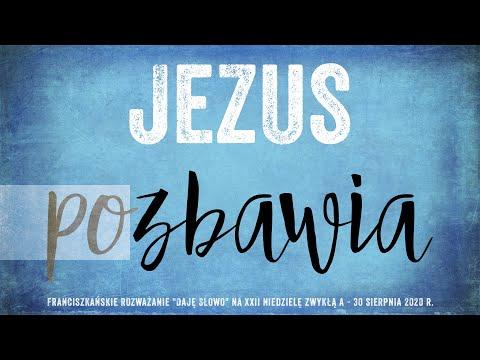 Jezus pozbawia: Daję Słowo - XXII niedziela A - 30 VIII 2020