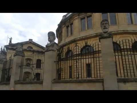 Bodleian Library in Oxford University - Biblioteca Bodelian en la Universidad de Oxford