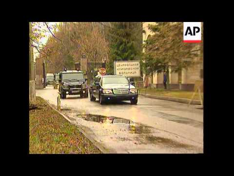 RUSSIA: PRESIDENT YELTSIN LEAVES HOSPITAL FOR A GOVERNMENT REST HOME