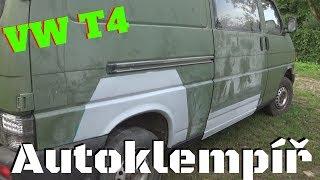 VW T4 kompletní vyváření (Car body repair)