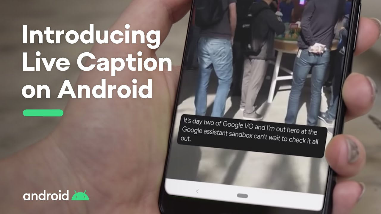 android live caption