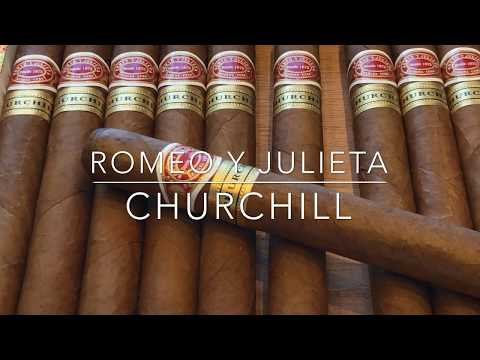 ROMEO Y JULIETA CHURCHILL CUBAN CIGAR UNBOXING & REBOXING