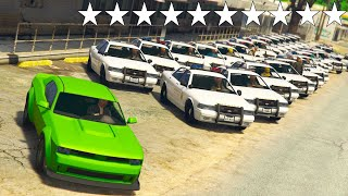 GTA 5 ONLINE BUSTED 🐷 HELLFIRE VS POLIZIA !!! 100,000% IMPOSSIBILE !!!🐷 DAJE !!