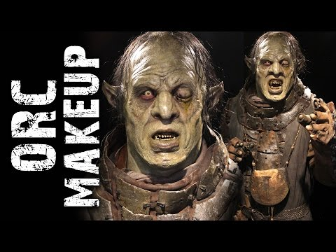 Orc Warrior Makeup demo at Monsterpalooza