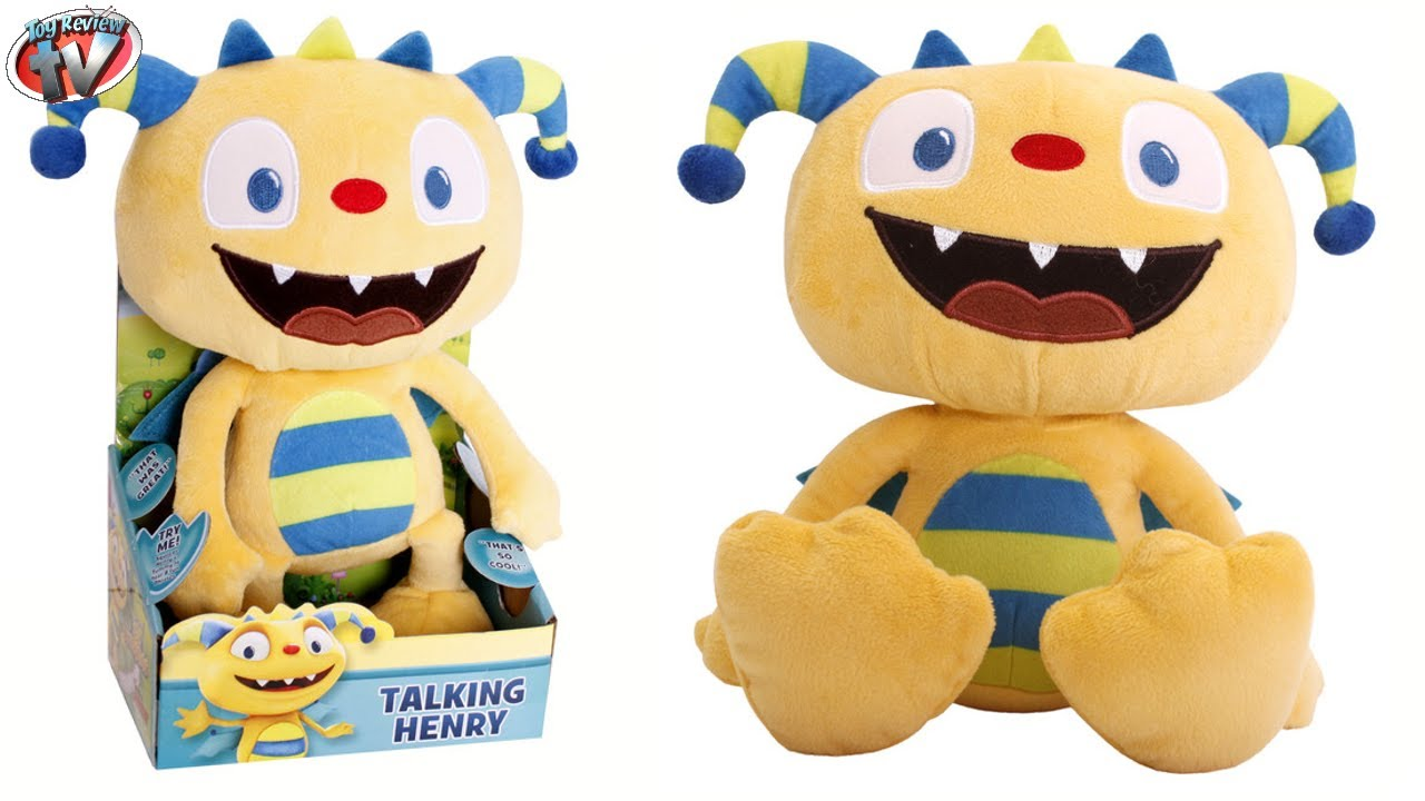 Disney Junior Henry Hugglemonster Talking Henry Plush Toy Review