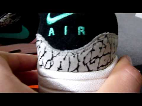 pick up 19917 2a2a2 Nike Air Max 1 Atmos Elephant CLOSE UP - YouTube