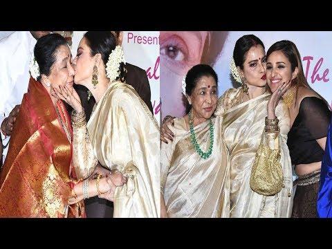 RED CARPET: Yash Chopra Award: Emotional REACTION For Rekha & Asha Bhosle 5th Yash Chopra