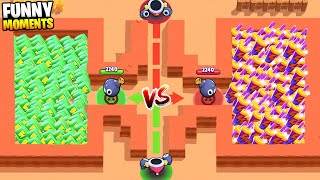 LUCK vs TROLL in BRAWL STARS! Brawl Stars Ultimate Funny Moments & Fails