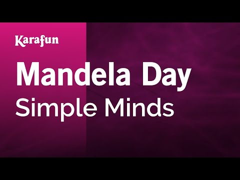 Karaoke Mandela Day - Simple Minds *