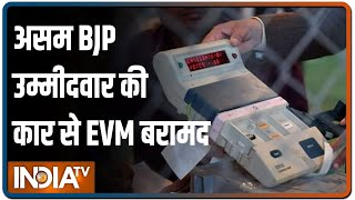 EVM's found in Assam BJP MLA's jeep; Priyanka Gandhi calls for re-evaluation