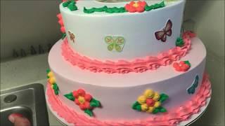 Pastel para niña de 1 año