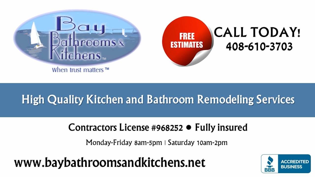 Bay Bathrooms and Kitchens | San Jose CA Kitchen and Bath Remodelers ...