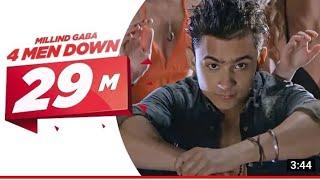 4MenDown Full Video - Millind Gaba | Latest Punjabi Songs | Speed Records|| prithvi raj