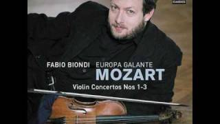 W.A. Mozart - Violin Concerto No. 3 in G major, K. 216 (I. Allegro) /  Fabio Biondi