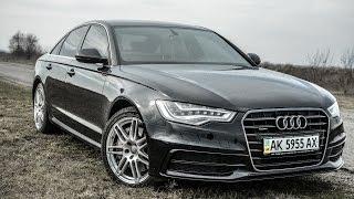 Audi A6  C7 2013 год  Владелец показывает все косяки авто, поучительно!