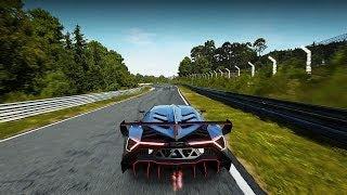 Forza Motorsport 5 | Lamborghini Veneno DLC Nürburgring Gameplay Full Lap HD