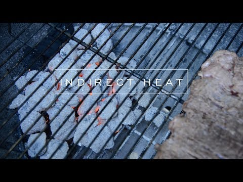 How to grill using indirect heat on a charcoal grill