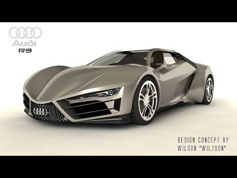 Audi R9 By Wilzoon Youtube
