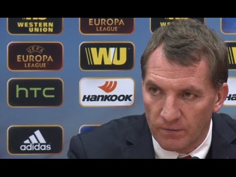 Brendan Rodgers Gives Stare To 'Disrespectful' Turkish Journalist