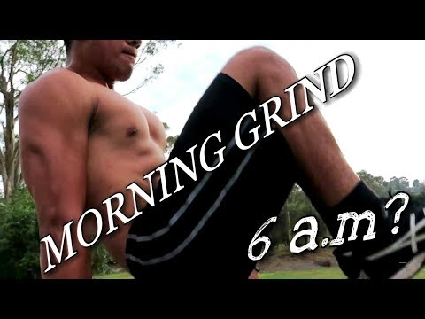 HOW TO BRING OUT AB DEFINITION?! No problem! Early Grind! Calisthenic Grinders