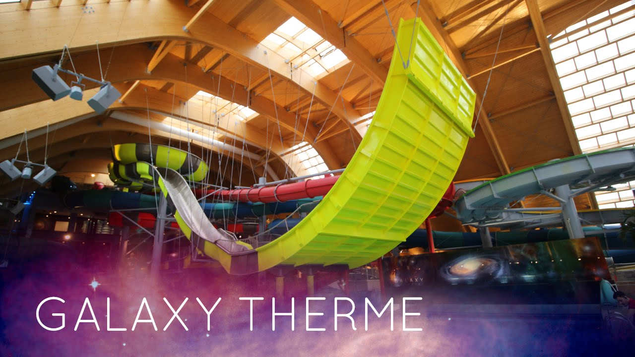 Therme Bucuresti Galaxy All Water Slides Onride New 2016
