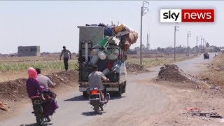 Fighting worsens in Idlib - Syria's last rebel stronghold