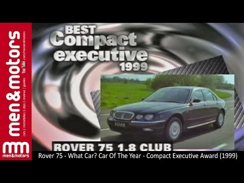 Rover 75 - What Car? Car Of The Year - Compact Executive Award (1999)