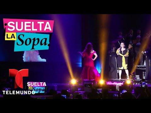 Se presentó nuevo holograma de Jenni Rivera en el 'L festival' | Suelta La Sopa | Entretenimiento
