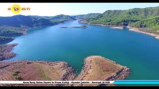 Naras Barajı Sahası Kayalık Ve Orman Krallığı - Havadan Çekimler - Manavgat 4K UHD