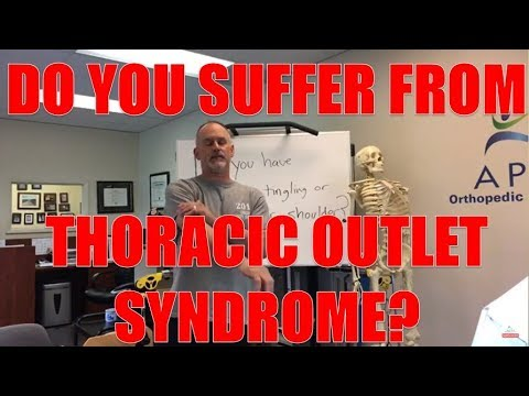 Do you suffer from Thoracic outlet syndrome?