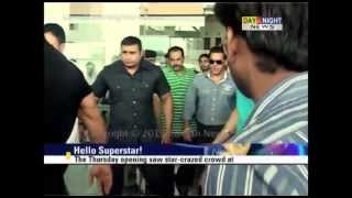 Fans go crazy as Salman Khan visits Chandigarh