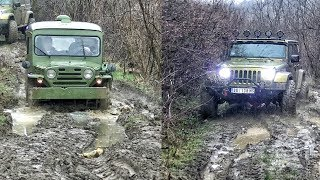 Fiat Campagnola vs Jeep