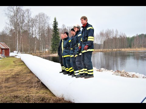 Sweden - River flood protection