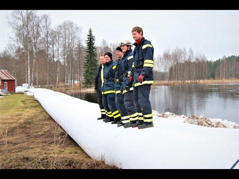 Sweden - River flood protection