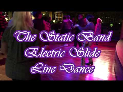 STAR PRINCESS CRUISES _THE STATIC BAND_ JIVE- ELECTRIC SLIDE DANCE 2019