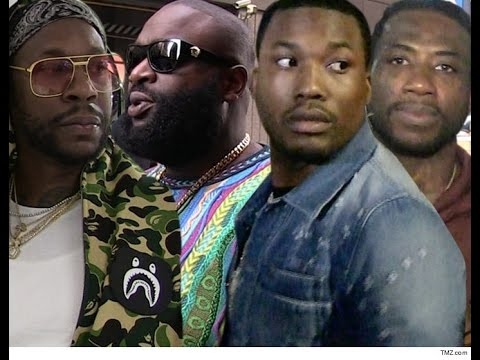 Shots Fired at Video shoot for Gucci Mane, Meek Mill, Rick Ross and 2 Chainz.
