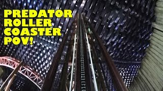 Predator AWESOME Indoor Low Light Camera Roller Coaster POV IMG Worlds Dubai UAE #RollerCoaster